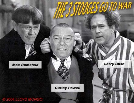 Three Stooges Go to War