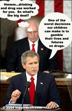 Bush giving SOTU address