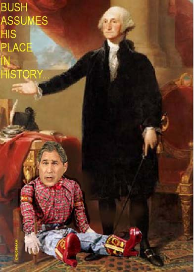 Bush's place in history