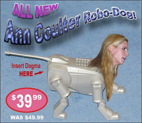 Ann Coulter Robo-Dog