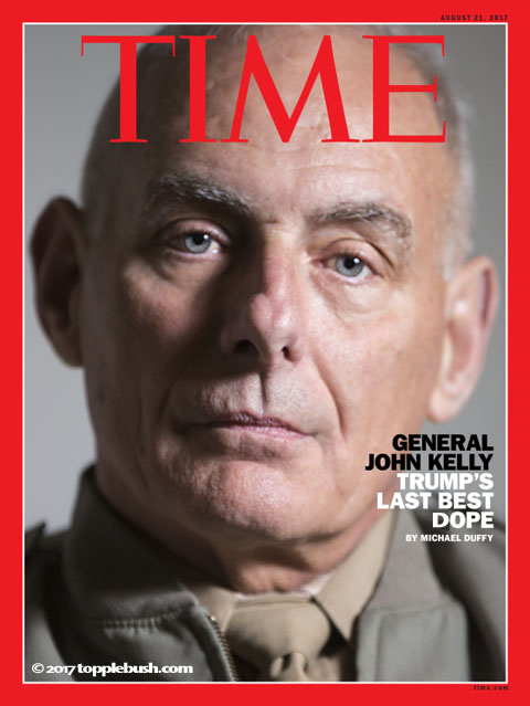 Gen. Kelly on cover of  Time