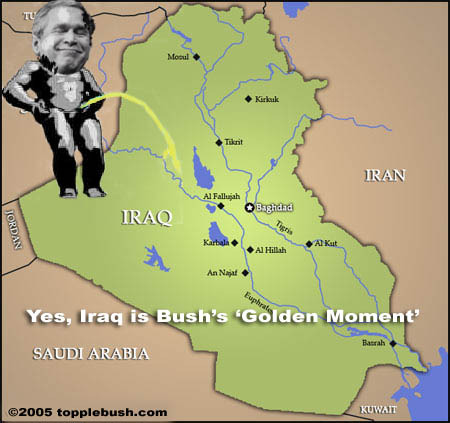 Iraq: Bush's golden moment