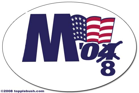 New McCain bumpersticker