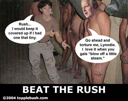 Rush Limbaugh in Abu Ghraib prison