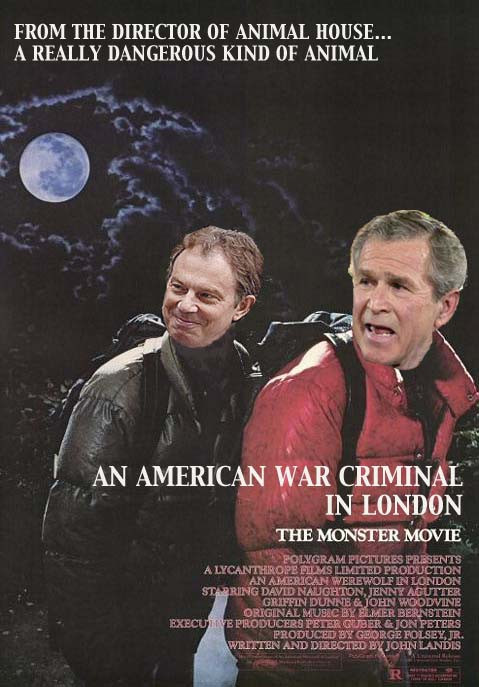 American War Criminal in London