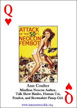 Ann Coulter card