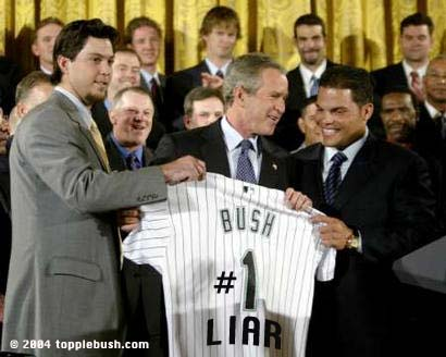 Bush meets Marlins