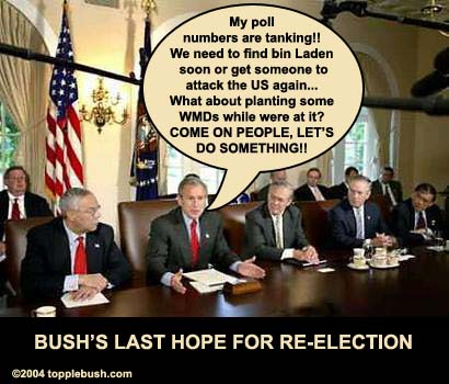 Bush re-election meeting