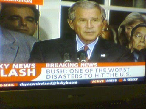 Bush the disaster