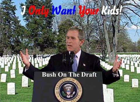 Bush on the Draft