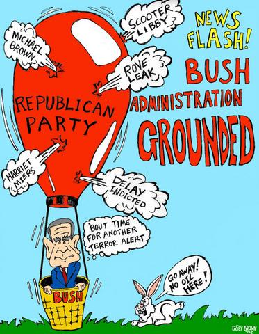 Bush Administration Grounded