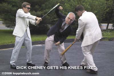 Cheney getting knees fixed