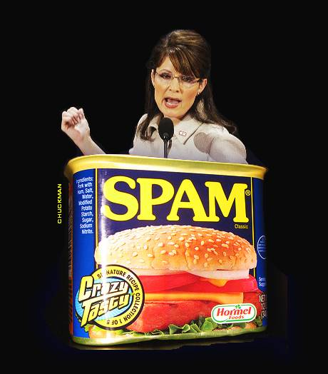 Palin spam in a can by John Chuckman