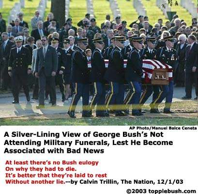 Be thankful there is on Bush eulogy