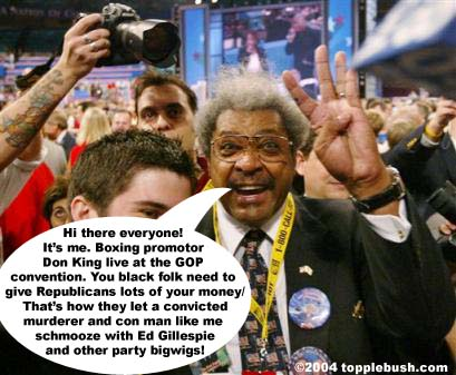Don King at GOP convention