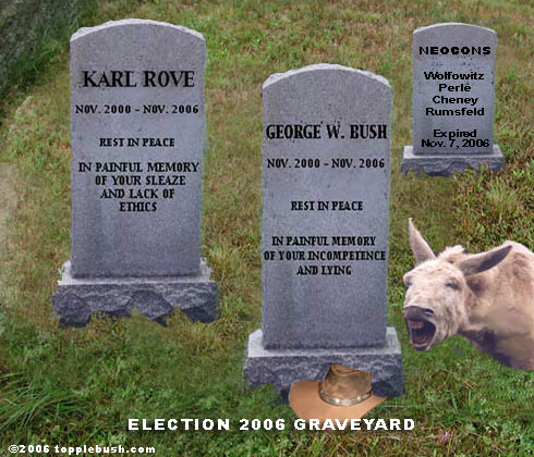 Election 2006 graveyard