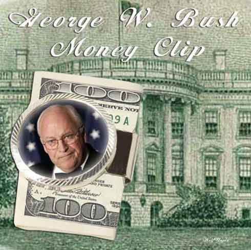 Bush money clip