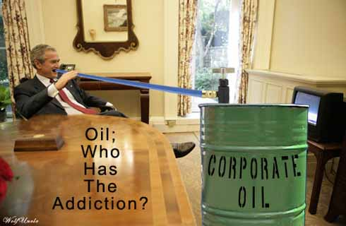 Bush oil addiction