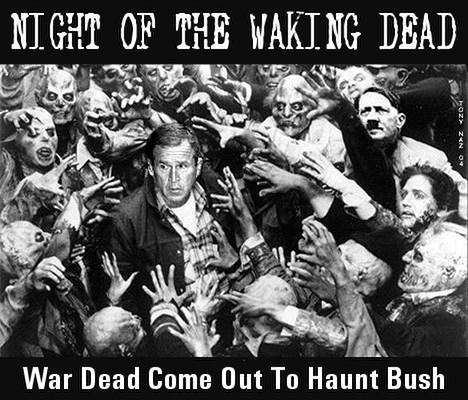Night of the waking dead
