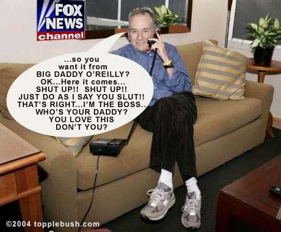 Bill O'Reilly having phone sex