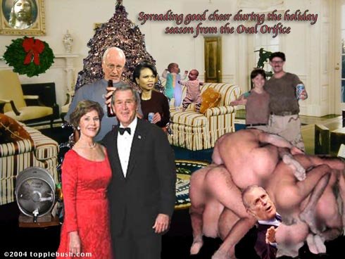 Oval Office Christmas Party