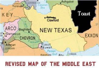 Revised Middle East Map