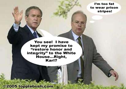 Integrity in the White House?