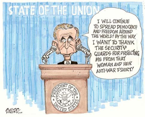 Bush's SOTU address
