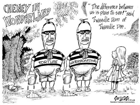 Cheney in Wonderland