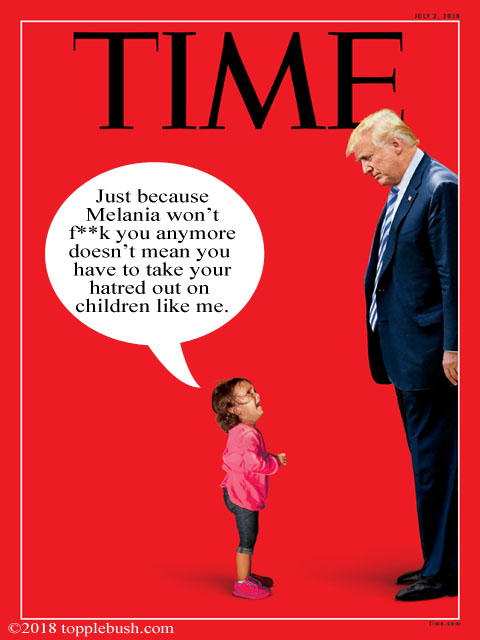 Trump on the cover of Time Magazine