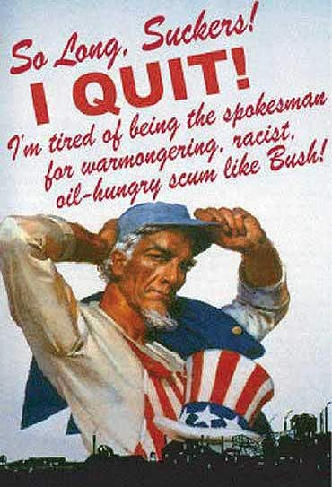Uncle Sam Quits